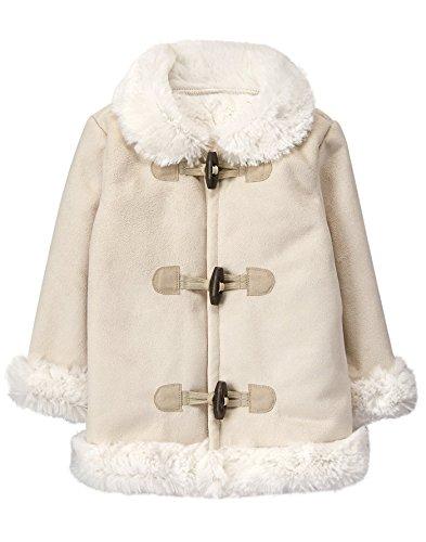 f1c8c5c38 Jackets – Gymboree Baby Girls Faux Fur Trim Coat, Cream, 18-24 mo Offers