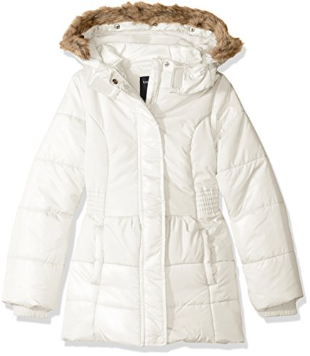 2544695f4 Jackets – Nautica Baby Girls' Heavy Weight Shine Jacket with Faux Fur Trim,  Cream, 18 Months Offers