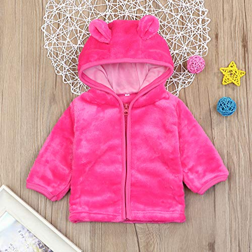 d606191fbd831 Currently you're reading among our write-up concerning Noubeau Infant Baby  Boys Girls Fleece Ears Hat Lined Hooded Zipper Up Jacket Coat ...